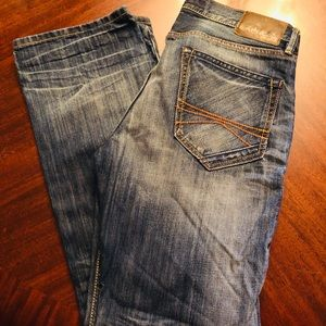 Men's Express Rocco Slim Fit Bootcut Jeans 32x32